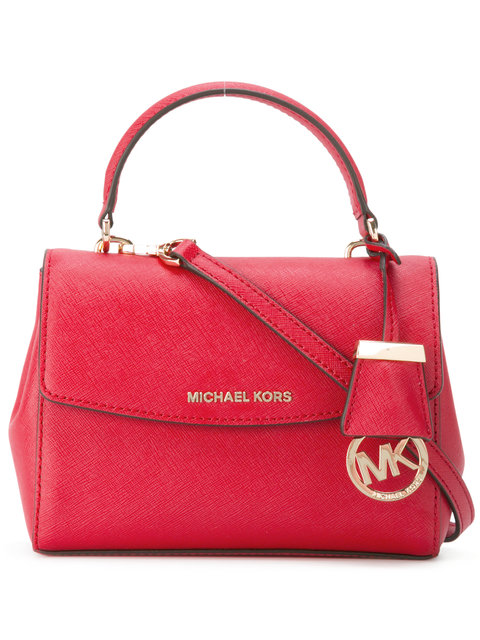 f0f338ec8ccf Michael Kors Ava Bright Red Saffiano Leather Xs Crossbody Bag | ModeSens