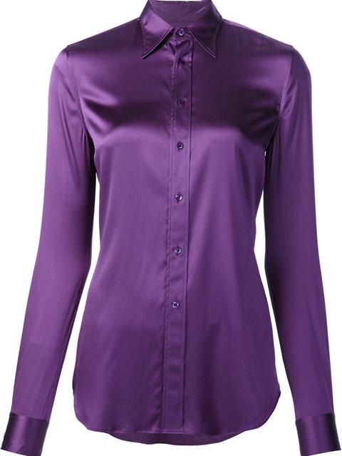Ralph Lauren Classic Shirt - Purple In Pink & Purple