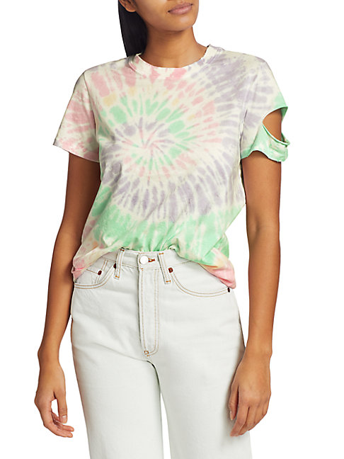 N:philanthropy It Was All A Dream Jimmy Tie-dye T-shirt In Pink Panther