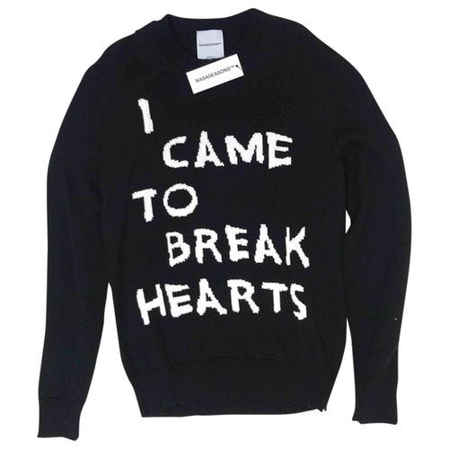 Pre-owned Nasa Seasons Black Wool Knitwear & Sweatshirts