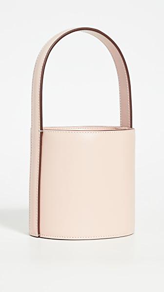 Staud Mini Bissett Bag In Blush