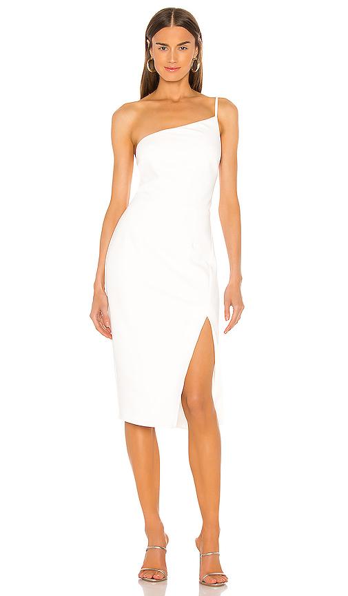 Lovers & Friends Lazo Midi Dress In White
