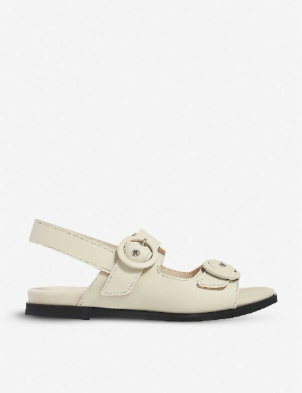 Whistles Marcie Buckled Leather Sandals
