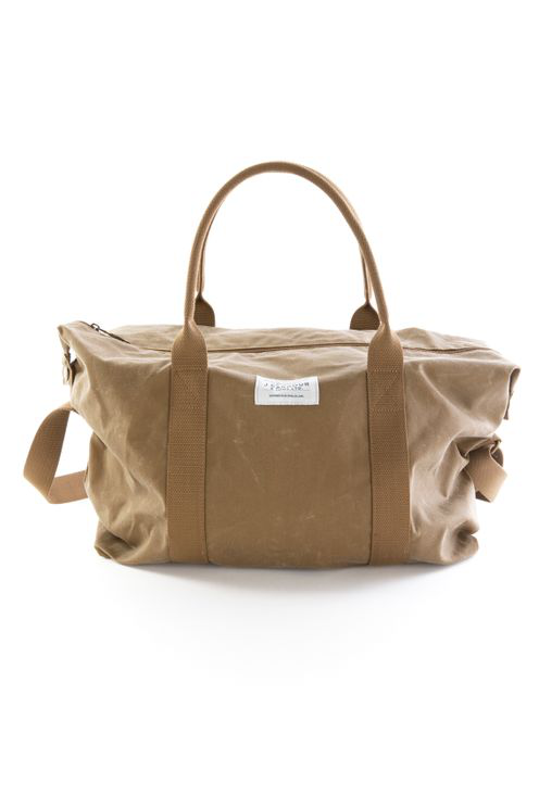 Barbour Eaden Holdall Wax Bag Sand Stone In Brown