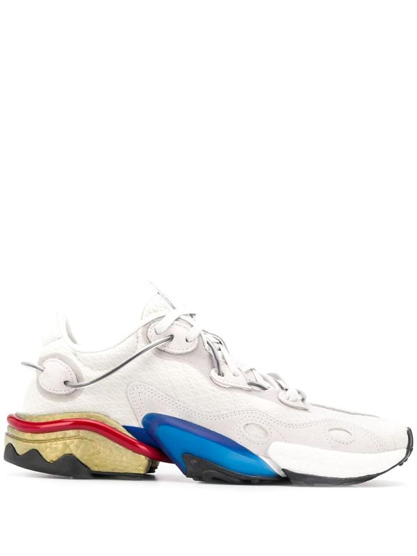 Adidas Originals Adidas Torsion X Shoes (fv4552) - Orbit Grey/grey One/scarlet In White