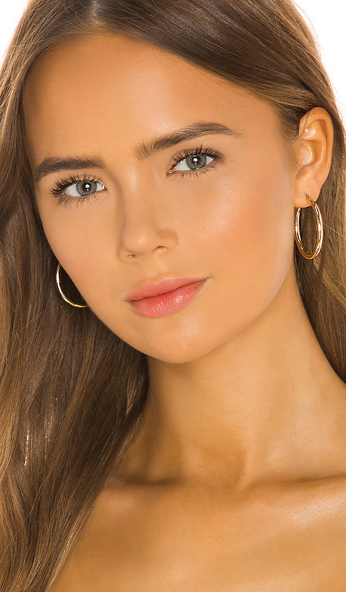 Sachi Thick Gold Hoops
