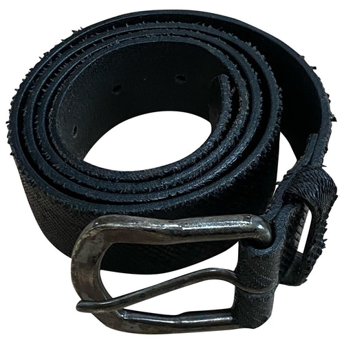 Pre-owned Closed Black Leather Belt