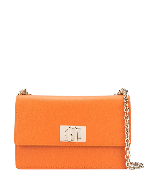 Furla 1927 Shoulder Bag In Orange