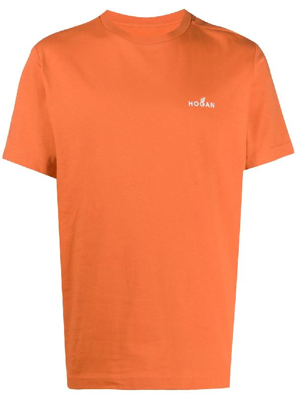 Hogan Orange Logo T-shirt