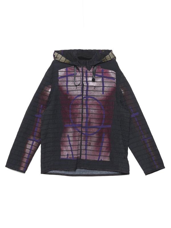 Craig Green Men's Cgss20mwojkt12purple Purple Cotton Outerwear Jacket In Multi