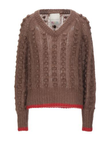 Marco De Vincenzo Sweaters In Cocoa