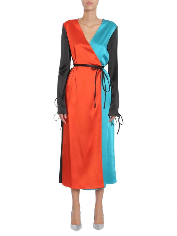 Attico Women's Mgtw17108 Multicolor Polyester Dress
