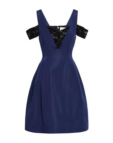 Prabal Gurung Short Dresses In Dark Blue