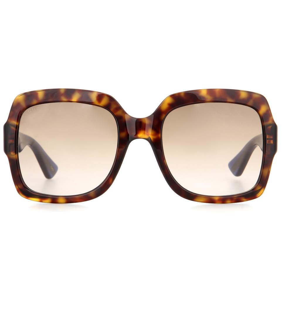 9ba4b583786 Gucci Oversized Square Sunglasses