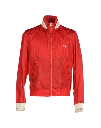 Fred Perry Jackets In Red
