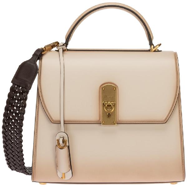 Salvatore Ferragamo Boxyz Bag In Pink