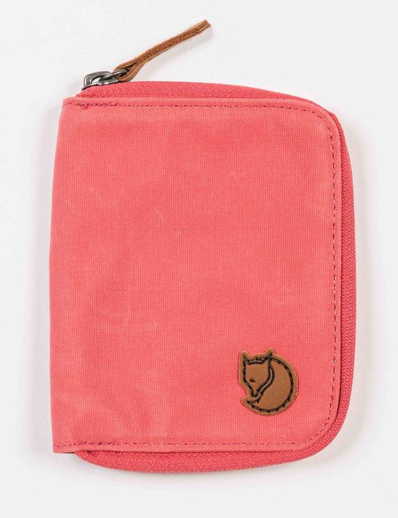 Fjall Raven Fjallraven Zip Wallet - Dahlia Colour: Dahlia In Red