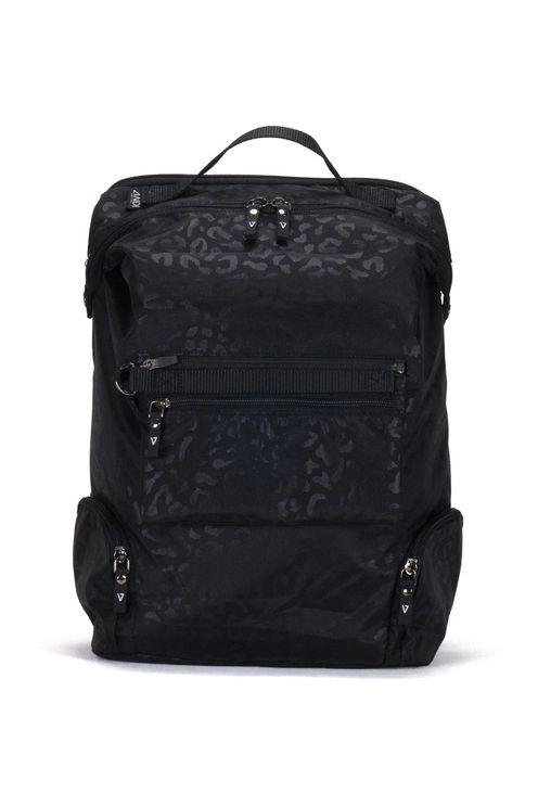 Andi Backpack - Black Leopard