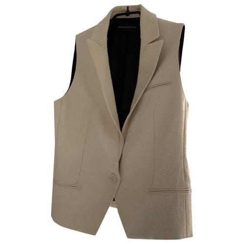 Pre-owned Zadig & Voltaire Ecru Jacket