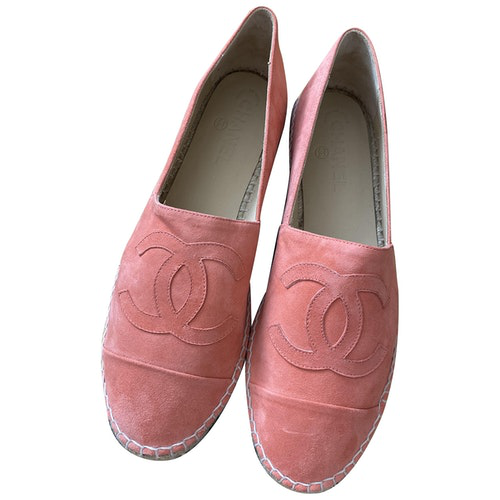 Pre-owned Chanel Suede Espadrilles