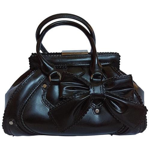Pre-owned Karen Millen Black Leather Handbag