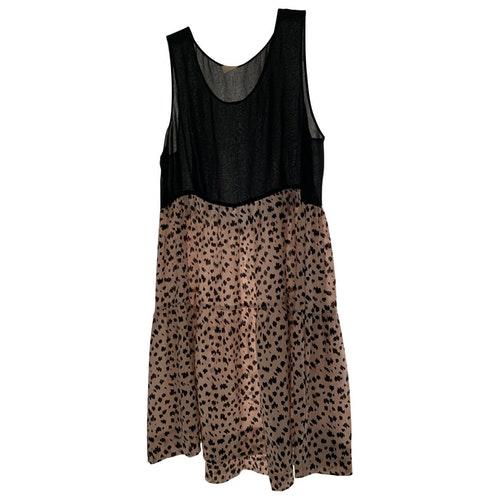 Pre-owned Gat Rimon Pink Silk Dress