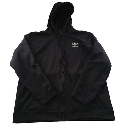 Pre-owned Adidas Originals Black Cotton Jacket