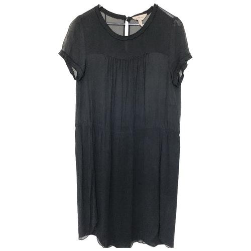 Pre-owned Isabel Marant Étoile Black Silk Dress