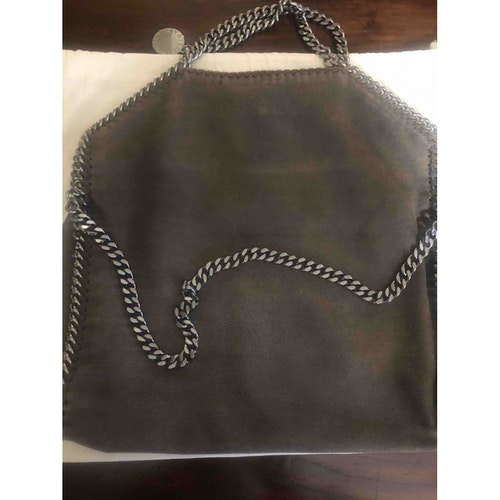 Pre-owned Stella Mccartney Falabella Brown Cloth Handbag