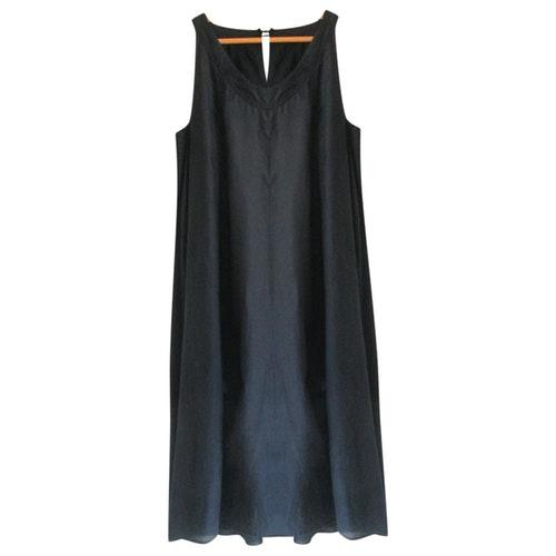 Pre-owned Calypso St Barth Blue Cotton Dress