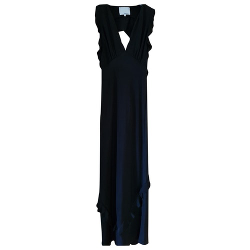 Pre-owned 3.1 Phillip Lim Black Silk Dress