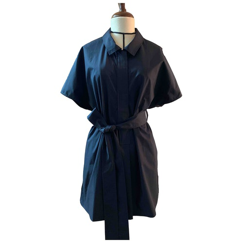Pre-owned Cos Blue Cotton Dress