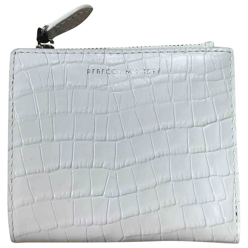 Pre-owned Rebecca Minkoff White Leather Wallet