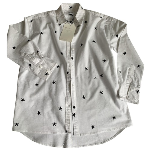 Pre-owned Current Elliott White Cotton  Top
