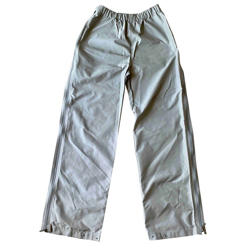 Pre-owned Max Mara Grey Trousers