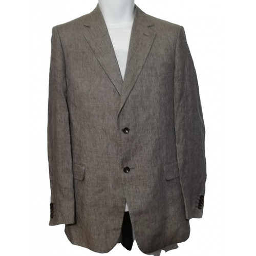 Pre-owned Pal Zileri Linen Jacket