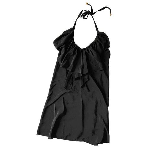 Pre-owned Yumi Kim Black Silk Dress
