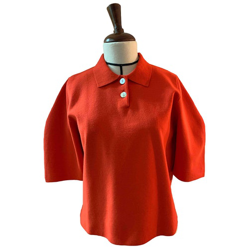 Pre-owned Cos Red  Top