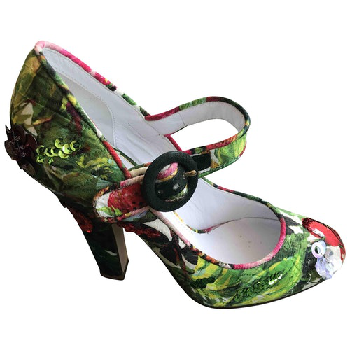 Pre-owned Dolce & Gabbana Multicolour Cloth Heels