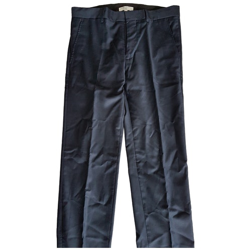 Pre-owned Lancel Blue Trousers