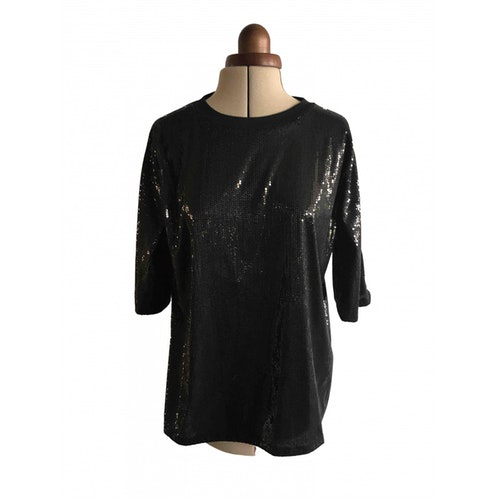 Pre-owned The Kooples Fall Winter 2019 Black  Top