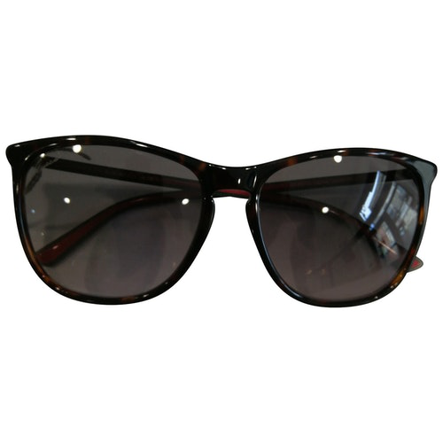Pre-owned Gucci Brown Sunglasses