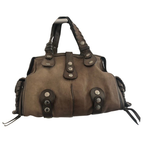 Pre-owned Chloé Brown Leather Handbag