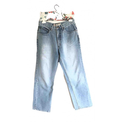 Pre-owned Dickies Blue Cotton Jeans