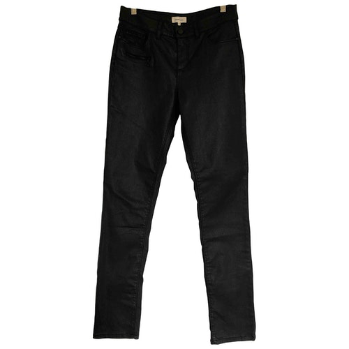 Pre-owned Gerard Darel Black Cotton - Elasthane Jeans