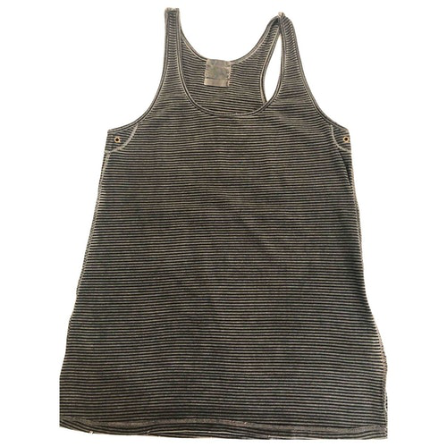 Pre-owned Laurence Dolige Grey Cotton  Top