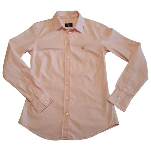Pre-owned Gant Rugger Pink Cotton  Top