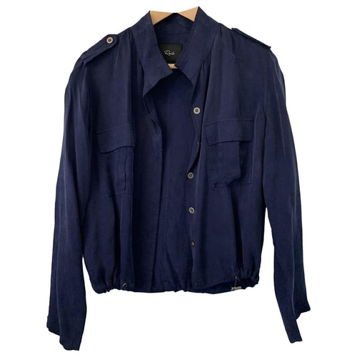 Pre-owned Rails Navy Cotton Jacket
