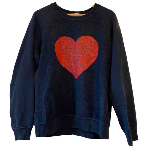Pre-owned Msgm Blue Cotton Knitwear