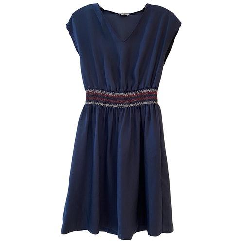 Pre-owned Claudie Pierlot Blue Dress